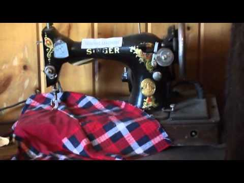 See A Nostalgic Singer Sewing Machine & More