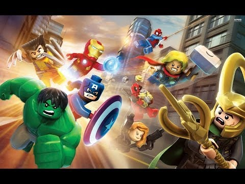 Lego Marvel super heroes Gameplay (Mac)