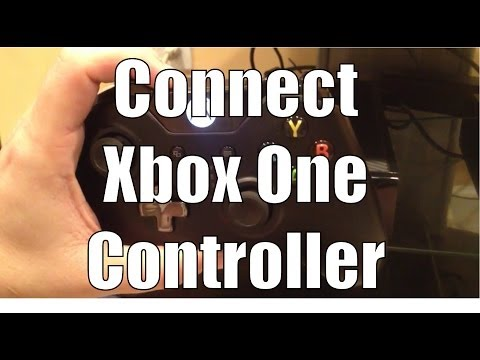 How to Connect / Sync / Pair Xbox One controller to Xbox One console