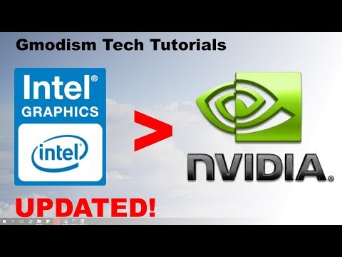 How to switch from Intel HD graphics to dedicated Nvidia graphics card [2018]