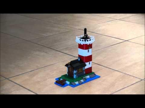 Lego Lighthouse (5770) animation