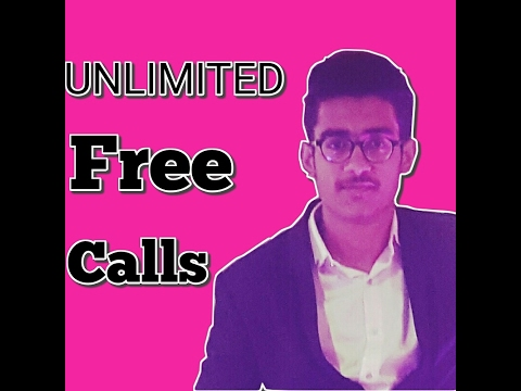 Unlimited FREE CALLS anywhere in the World [HINDI] [100% working]