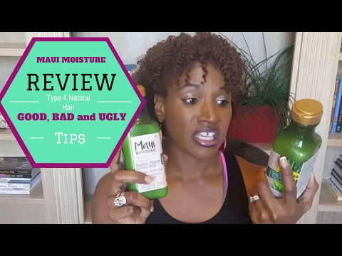 Maui Moisture Final Review | Colored Treated| Natural 4 type Hair