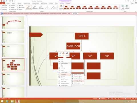 PowerPoint 2013 exam 77-422 part 12 Insert and format SmartArt