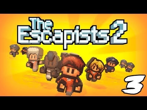 The FGN Crew Plays: The Escapists 2 #3 - No Job Openings (PC)