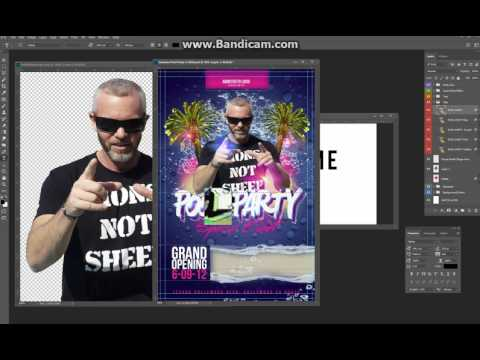 How to make awesome flyers in Photoshop CHEAP!