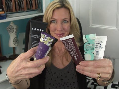 Testing Makeup Primers ~ For Mature Skin