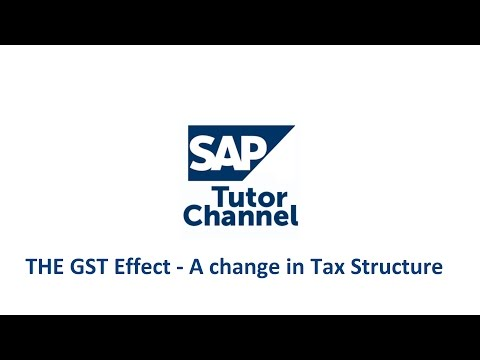 THE GST Effect - A change in Tax Structure