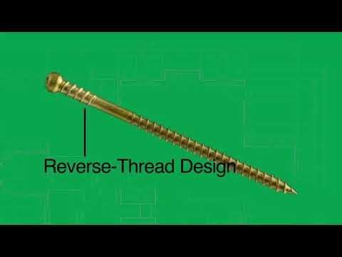 GRK RT Composite Screws