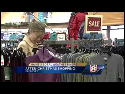 LL Bean busy with day-after Christmas sales, returns