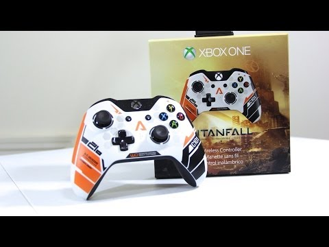 Titanfall Xbox One Wireless Controller | First Look & Unboxing