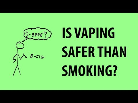 Vaping, e-cigs, and health - the basics