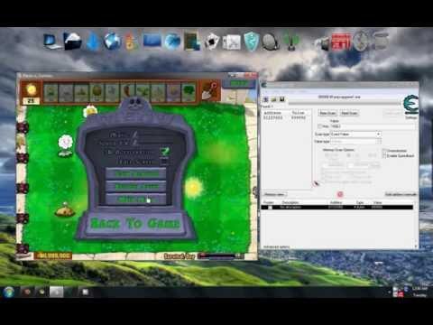 Plants vs Zombies Unlimited coins money hack cheat engine 5.5 plantsvszombies