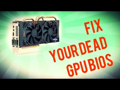 How to FIX your Bricked GPU BIOS - Bootable DOS Drive Method - HD6950 failed flash to HD 6970