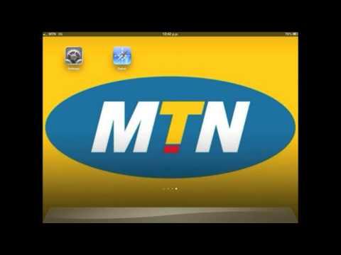 MTN - Internet Settings for iPad