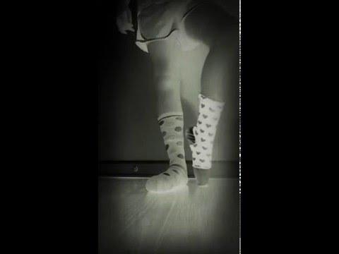 Socks ofer pointe shoes