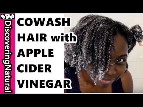 Natural Hair COWASH ROUTINE with Apple Cider Vinegar Rinse
