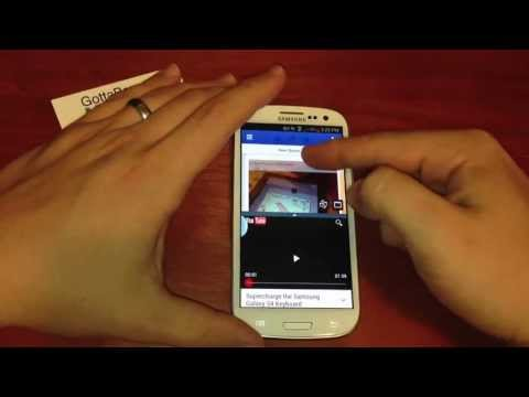 How to Use Multi Window View on the Galaxy S3