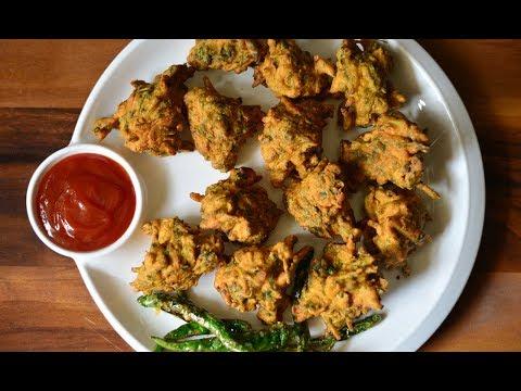 Methi Na Gota   Methi Na Bhajiya   Gujarati Recipes @ Guru's Cooking