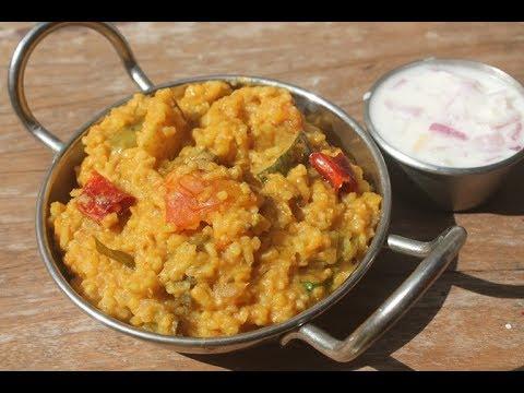 Sambar Rice Recipe - Sambar Sadham