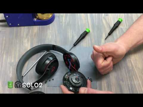 Beats Solo 2 2.0 Wireless Charger Port Micro USB Fix Repair JoesGE Fix Beats