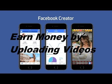 [Hindi-हिन्दी] Earn Money with Facebook for Creators New Video Platform