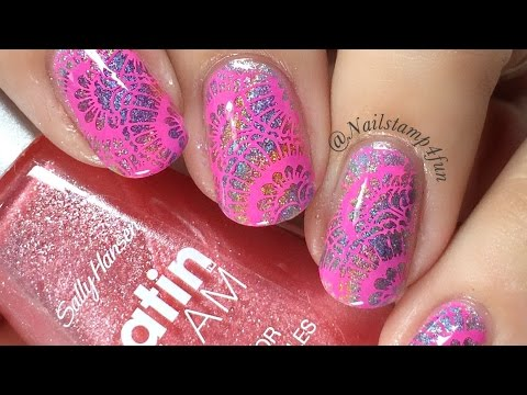 How to: Stained Glass look Nail Art Tutorial