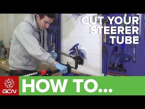 How To Cut A Road Bike Steerer Tube