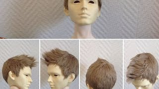 Part 3: Bjd wig styling, the long version