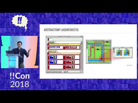 !!Con 2018: Whoa, pictures! A visual history of visual programming languages! by Emily Nakashima