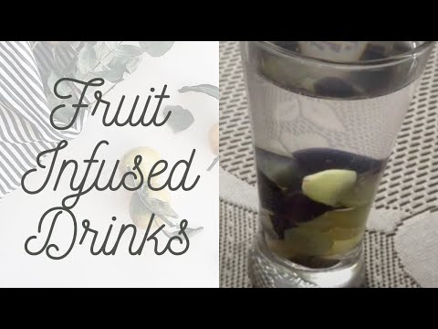 My Recipe Book: DIY Go-To Recipe - How To Make Grape Infused Water