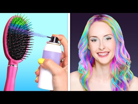 21 AMAZING HAIR TRICKS FOR A REAL PRINCESS