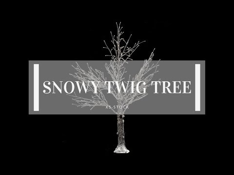 Snowy Twig Tree Product Overview