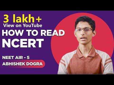 How to read NCERT Books for NEET  | Rank-5 | NEET 17 Abhishek Dogra  - Kota
