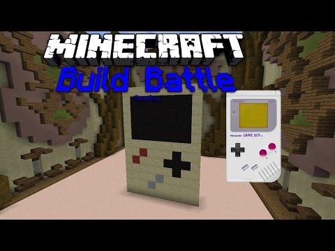 Minecraft! Build Battle #1 Gameboy