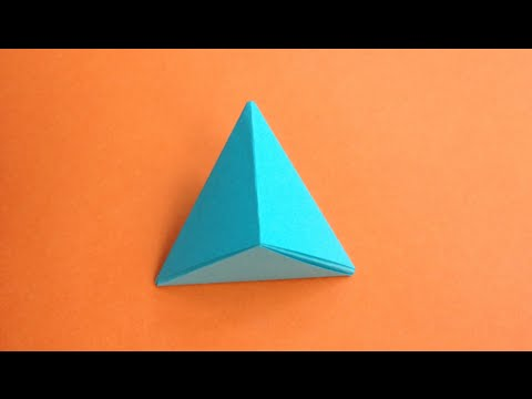 How to make a paper Pyramid....