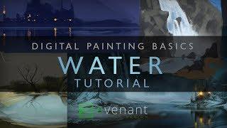 Painting Water Tutorial - Digital Painting Basics - Concept Art