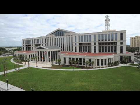 The new Duval County Courthouse built in 18 seconds