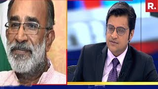 Arnab Goswami Speaks To KJ Alphons