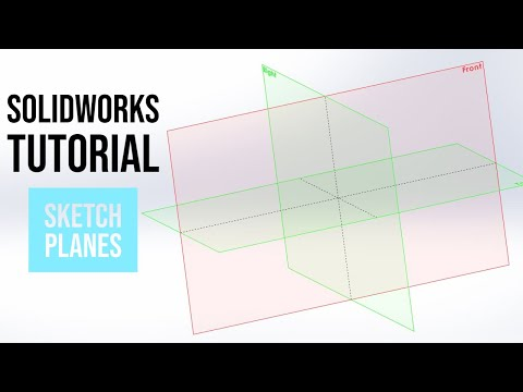 SolidWorks Tutorial: How To Make New Sketch Planes