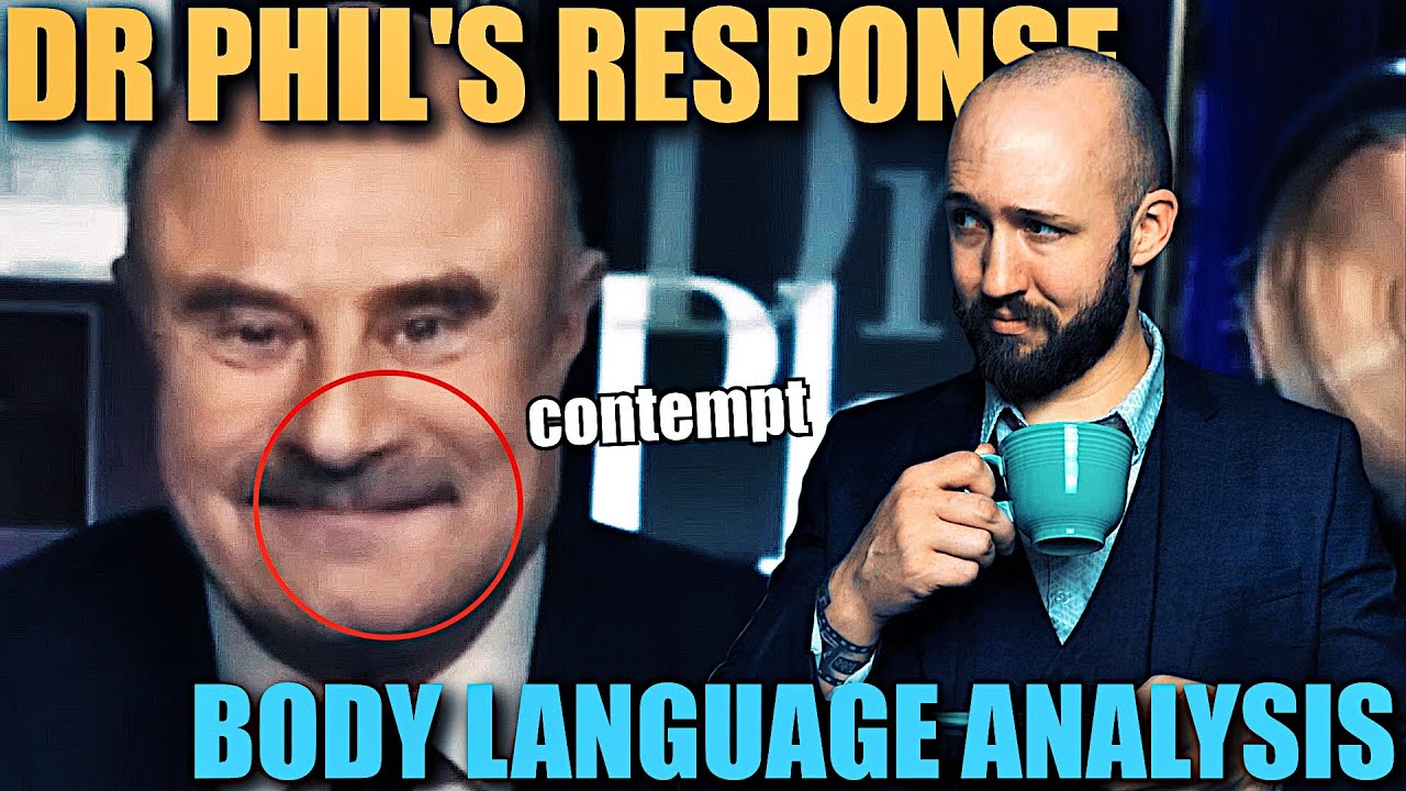 Dr Phil's Body Language Regarding Bhad Bhabie and The Turn About Ranch Allegations