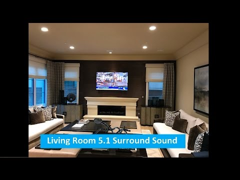 Living Room 5.1 Surround Sound System