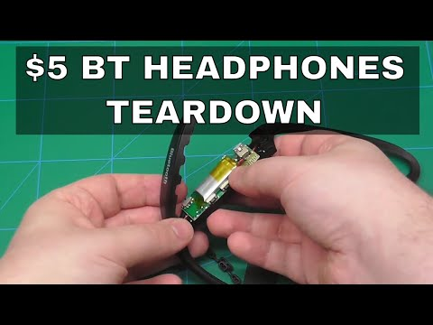 Teardown Of $5 BS-19 Bluetooth Sports Headphones