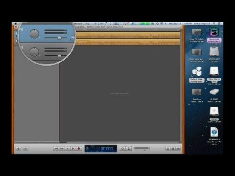 How to Make Music From iTunes to Instrumental on Garageband : GarageBand Tutorials