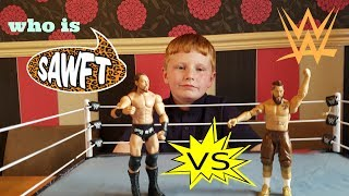 wwe toys .  enzo vs big cass .