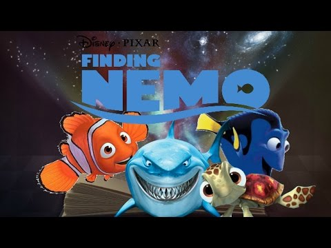 The Ghost Light Fish Story Book by Disney Story Time  Finding Nemo