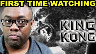 Watched KING KONG (1933) for the FIRST TIME - REVIEW | Black Nerd