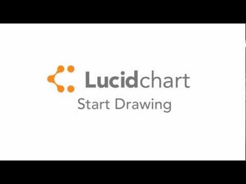 Drawing a diagram in Lucidchart - Drag and Drop!