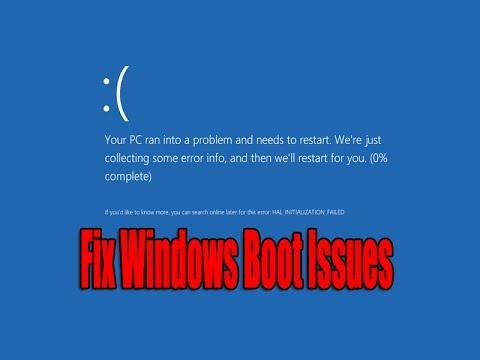 Fix Windows Boot Issues