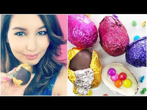 DIY Chocolate Easter Eggs | #ChipperTreats | Sonal Sagaraya